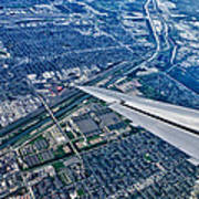 Approach Into Chicago Art Print