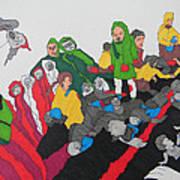 Arab Despair  Art Print