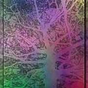 Arboreal Mist 1 Art Print