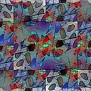 Arboretum Colorful Art Print