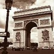 Arc De Triomphe Print by Kathy Yates
