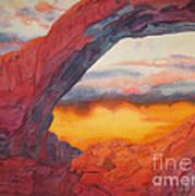 Arch Element Too Art Print by Vikki Wicks