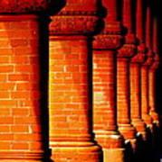 Archaic Columns Art Print by Karen Wiles