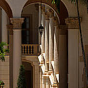 Arches And Columns At The Biltmore Hotel Art Print