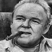 Archie Bunker Art Print