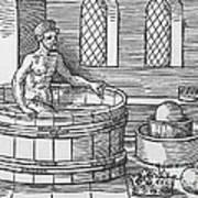 Archimedes And Hydrostatics Art Print