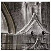 Architectural Detail Triptych Art Print by Carol Leigh