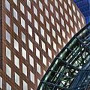 Architecture Building Patterns Art Print