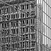 Architecture Reflections Art Print