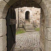 Archway - Entrance To Historic Town Art Print