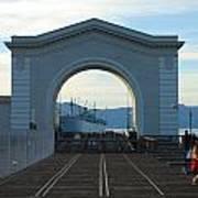 Archway Pier 39 San Francisco Art Print