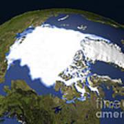 Arctic Sea Ice, 1979 Art Print
