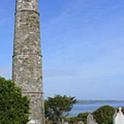 Ardmore Round Tower - Ireland Art Print