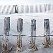 Aresquiers Beach Art Print