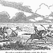 Argentina: Gauchos, 1853 Art Print
