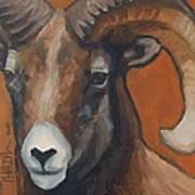 Aries - Ram Painting Art Print