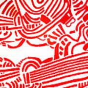 Arise  Les Paul Art Print