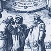 Aristotle, Ptolemy And Copernicus Art Print