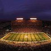 Arizona Arizona Stadium Under The Lights Art Print