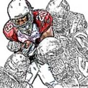 Arizona Cardinals Chester Taylor Seattle Seahawks David Hawthorne Clinton Mcdonald And Red Bryant Art Print
