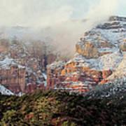 Arizona Snowstorm Art Print