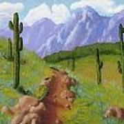 Arizona Trails Art Print