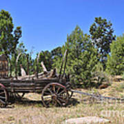 Arizona Wagon Art Print