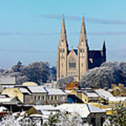 Armagh Cathedral In The Snow Art Print