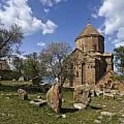 Armenian Church On Adkamar Island Art Print
