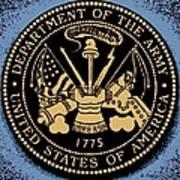 Army Medallion Art Print