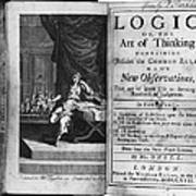 Arnauld & Nicole: Logic Art Print