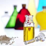 Aromatherapy Oils Art Print