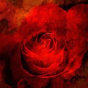 Art Rose Art Print by Martin  Fry