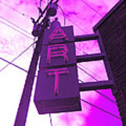 Art Sign  Art Print