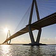 Arthur Ravenel Jr Bridge Charleston South Carolina Art Print