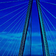 Arthur Ravenel Jr Bridge IIi Art Print