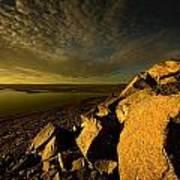 Artic Landscape Art Print