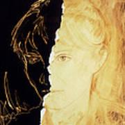 Artist's Abstract Depiction Of Schizophrenia Art Print
