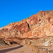 Artists Palette Death Valley California Art Print