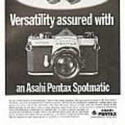 Asahi Pentax Spotmatic Art Print
