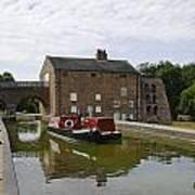 Ashby Canal At Moira Furnace Art Print