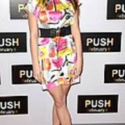 Ashley Greene At Arrivals For Push Art Print