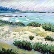 Asilomar Beach Art Print