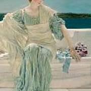 Ask Me No More Art Print by Sir Lawrence Alma-Tadema