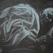 Asleep At The Mount Of Transfiguration Art Print