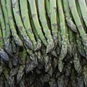 Asparagus At A Market In Provence Art Print