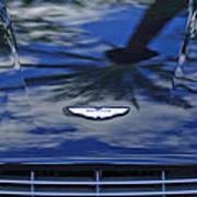 Aston Martin Hood 2 Art Print