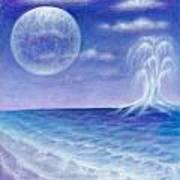 Astral Beach Art Print