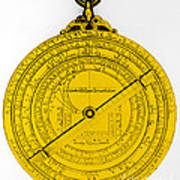 Astrolabe Art Print by Omikron