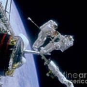 Astronauts Art Print